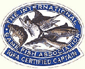 IGFA certified captains patch